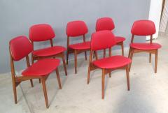 Fine Set of Six Italian 1950s Chairs - 1511550