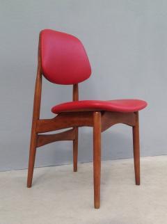 Fine Set of Six Italian 1950s Chairs - 1511565