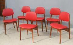 Fine Set of Six Italian 1950s Chairs - 1511584