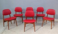 Fine Set of Six Italian 1950s Chairs - 1511585