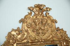 Fine and Monumental Italian Baroque Giltwood Mirror - 358362