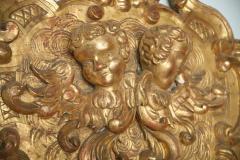 Fine and Monumental Italian Baroque Giltwood Mirror - 358363