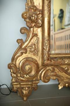 Fine and Monumental Italian Baroque Giltwood Mirror - 358365