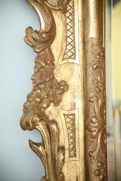 Fine and Monumental Italian Baroque Giltwood Mirror - 358368