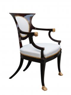Fine pair of Neoclassical Armchairs - 1591957