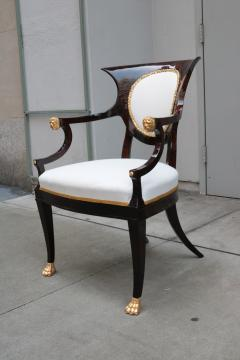 Fine pair of Neoclassical Armchairs - 1591958