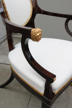 Fine pair of Neoclassical Armchairs - 1591961