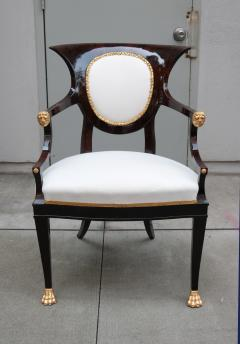 Fine pair of Neoclassical Armchairs - 1591964