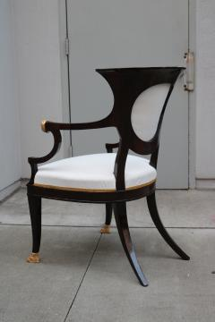 Fine pair of Neoclassical Armchairs - 1591982
