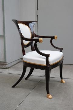 Fine pair of Neoclassical Armchairs - 1591984