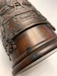 Finely Carved Chinese Brush Holder Pot - 1153615