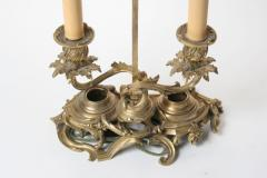 Finely Cast Louis XV Gilt Bronze Candlestick Lamp - 434000
