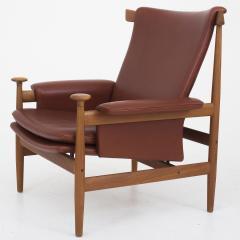 Finn Juhl Bwana Chair with Stool - 324694 & Finn Juhl -