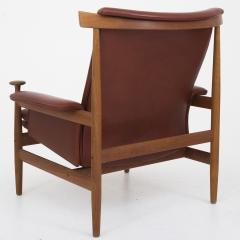 finn juhl bwana chair with stool