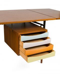 Finn Juhl Finn Juhl Model BO69 Nyhavn Teak Desk with Extension for Bovirke - 1090068