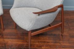 Finn Juhl Finn Juhl NV 53 Lounge Chairs for Niels Vodder - 2016458