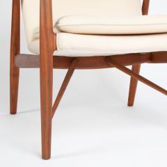 Finn Juhl Finn Juhl Pair Of Iconic 45 Lounge Chairs 1950s - 1524867