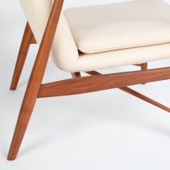 Finn Juhl Finn Juhl Pair Of Iconic 45 Lounge Chairs 1950s - 1524868