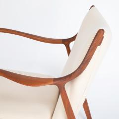 Finn Juhl Finn Juhl Pair Of Iconic 45 Lounge Chairs 1950s - 1524869