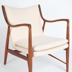 Finn Juhl Finn Juhl Pair Of Iconic 45 Lounge Chairs 1950s - 1524870