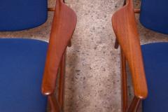 Finn Juhl Finn Juhl Teak Lounge Chairs Model FD 136 for France Daverkosen - 1290426