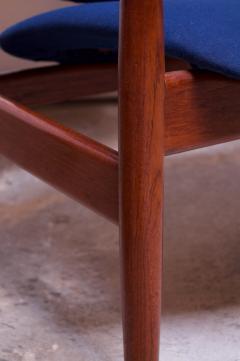 Finn Juhl Finn Juhl Teak Lounge Chairs Model FD 136 for France Daverkosen - 1290428
