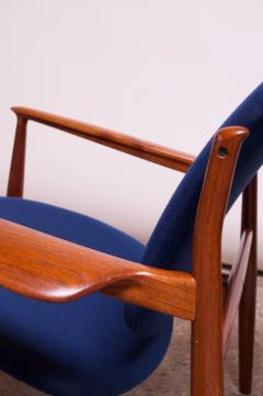 Finn Juhl Finn Juhl Teak Lounge Chairs Model FD 136 for France Daverkosen - 1290443