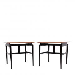 Finn Juhl Pair Finn Juhl side tables for Baker - 1005878
