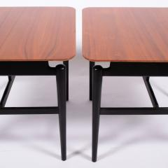Finn Juhl Pair Finn Juhl side tables for Baker - 1005882