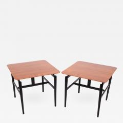 Finn Juhl Pair Finn Juhl side tables for Baker - 1007577