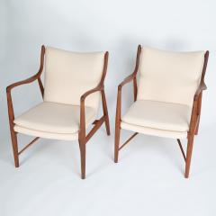 Finn Juhl Pair of Finn Juhl 45 chairs for Baker Furniture circa 1960s - 1135689
