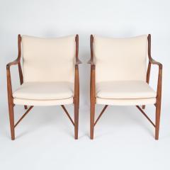 Finn Juhl Pair of Finn Juhl 45 chairs for Baker Furniture circa 1960s - 1135690