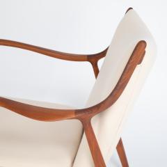 Finn Juhl Pair of Finn Juhl 45 chairs for Baker Furniture circa 1960s - 1135697