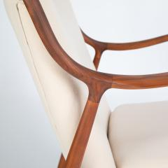 Finn Juhl Pair of Finn Juhl 45 chairs for Baker Furniture circa 1960s - 1135698