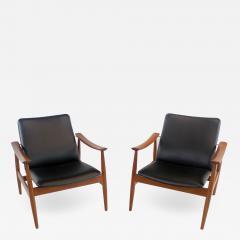 Finn Juhl Rare Pair of Armchairs Designed by Finn Juhl - 1741333