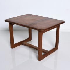 Finn Juhl Scandinavian Solid Teak Wood Side Tables Rectangular FINN JUHL Denmark 1980s - 2023795