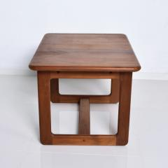 Finn Juhl Scandinavian Solid Teak Wood Side Tables Rectangular FINN JUHL Denmark 1980s - 2023796