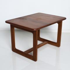 Finn Juhl Scandinavian Solid Teak Wood Side Tables Rectangular FINN JUHL Denmark 1980s - 2023797