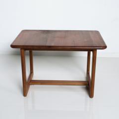 Finn Juhl Scandinavian Solid Teak Wood Side Tables Rectangular FINN JUHL Denmark 1980s - 2023798
