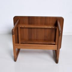 Finn Juhl Scandinavian Solid Teak Wood Side Tables Rectangular FINN JUHL Denmark 1980s - 2023799