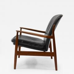 finn juhl teak and leather lounge chair by finn juhl for france and daverkosen chatwin lounge chair lounge