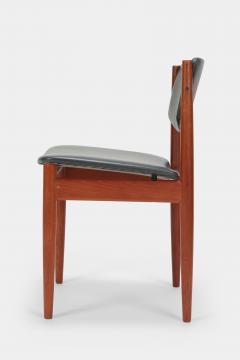 Finn Juhl Two Finn Juhl Model 197 Chairs Leather and Teak 60s - 1638680