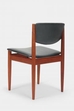 Finn Juhl Two Finn Juhl Model 197 Chairs Leather and Teak 60s - 1638690