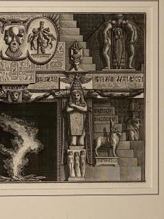 Fireplace Surround 1 Piranese Engraving Italy Circa 1760 - 1506657