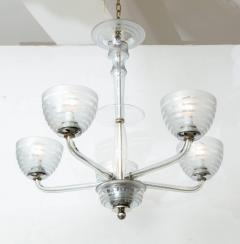 Five Arm Glass Chandelier - 848263