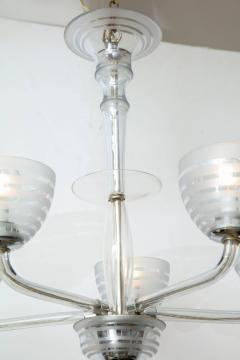 Five Arm Glass Chandelier - 848264