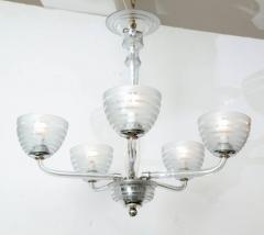 Five Arm Glass Chandelier - 848265