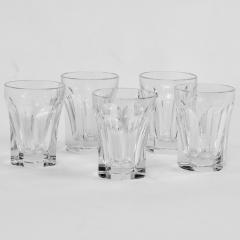 Five Baccarat Talleyrand Crystal Shot Glasses - 1160453