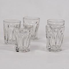 Five Baccarat Talleyrand Crystal Shot Glasses - 1160457