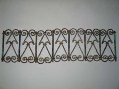 Five Islamic Wrought Iron Wall Decorations or Sculptures - 1876821